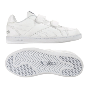 Zapatillas todo blanco para el colegio