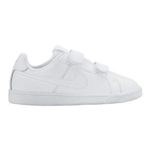 Las zapatillas Nike Court Royale (PVS) para niño pequeño reinventan un clásico de las pistas duras con una estética contemporánea.
