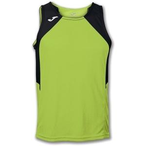 Camiseta sin mangas Joma Record concebida para el running. Está indicada para corredores que buscan la máxima comodidad y transpirabilidad.
