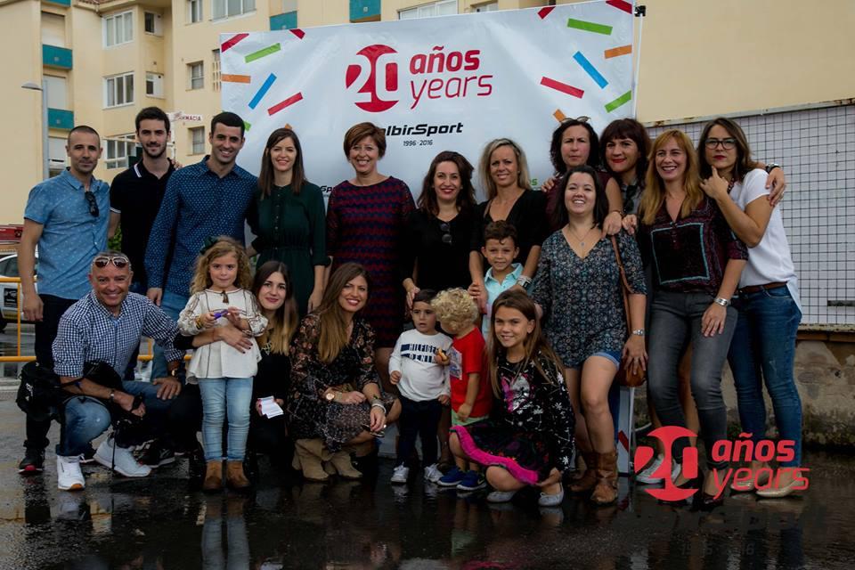 foto de familia 20 Aniversario Albir Sport