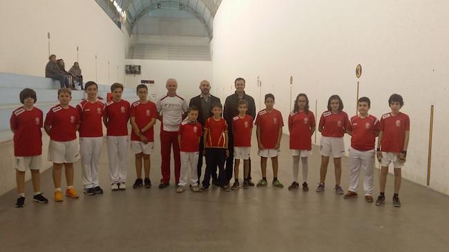 escuela municipal de pilota valenciana. LUIS MORANT, CONCEJAL DEPORTES L'ALFAS DEL PI