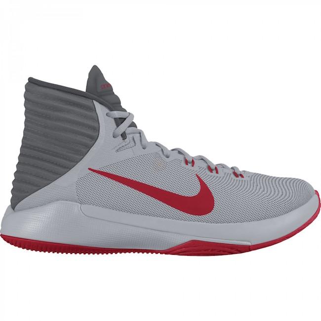 Las zapatillas de baloncesto Nike Prime Hype DF 2016 para hombre están diseñadas con una mediasuela de Phylon de doble densidad y una parte superior transpirable y ligera para una amortiguación duradera y un flujo de aire máximo durante el juego. Un diseño de tracción que tiene en cuenta las características anatómicas permite realizar cambios rápidos de dirección de un extremo a otro.