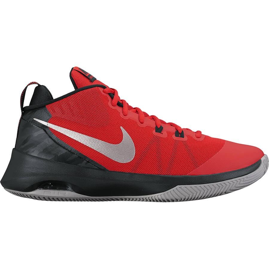 Las zapatillas de baloncesto Nike Air Versatile cuentan con el sistema Dynamic Fit que se integra con los cordones, una mediasuela Phylon y una unidad Air-Sole para ofrecer una sujeción firme y una amortiguación de máxima respuesta. La duradera suela exterior se puede usar en distintos tipos de superficies para ofrecer un juego dinámico.