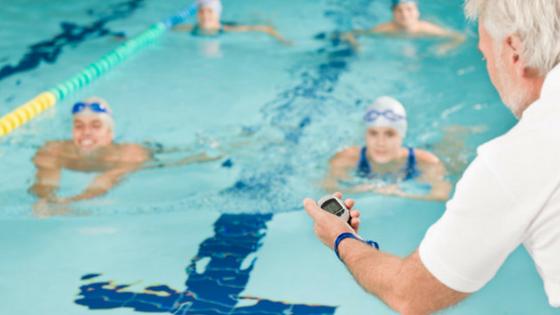 Entrenamiento especial para nadadores
