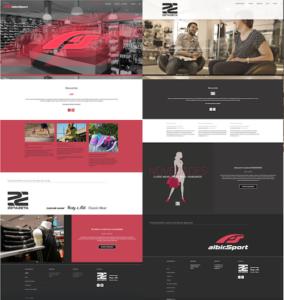 web de albit sport y grupo zeta zeta